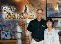 French Creek Log Homes - Golden Eagle Log Homes Dealer